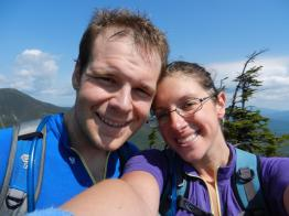 Meg and Bryan, Colden summit