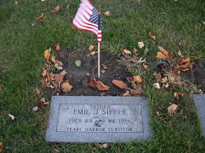 EJS headstone