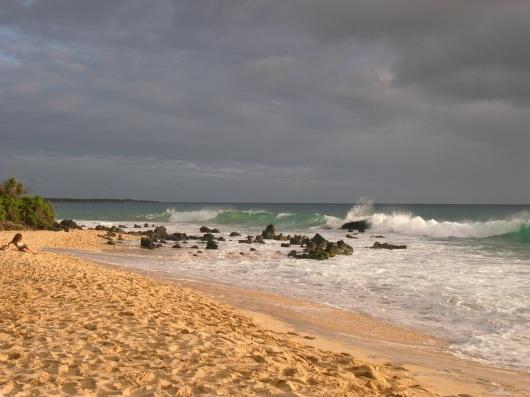 a beach in Maui
