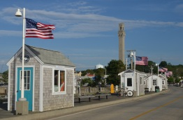 pier facing monument