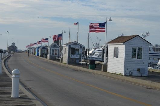 pier facing ocean