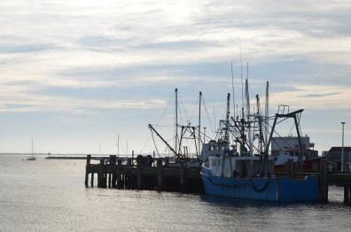pier fishing boat