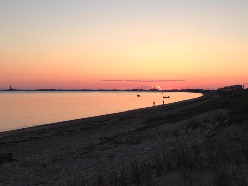 sunset last night