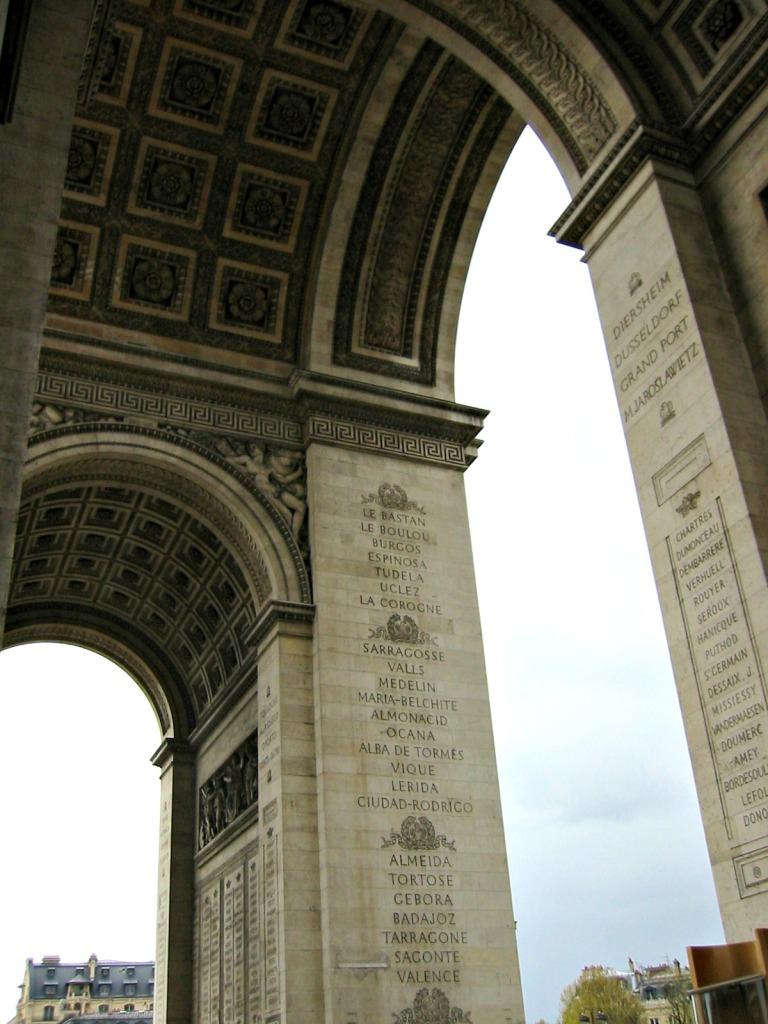 photo101 Arc de Triophe inside