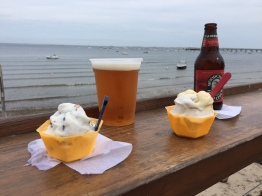 CC2015 gelato and beer